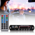 12V Car Music MP3 WMA Decoder Board with remote control Audio Decoder Board Module USB