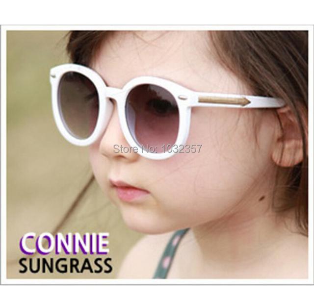 Корейский дети солнечные очки мальчики девочки солнечные очки защита от ультрафиолетовых лучей солнца - вс-затенение радиации очки подарки для дети дети