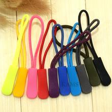 10pcs Mix Color Zipper Pulls Cord Rope Ends Lock Zip Clip Buckle For Paracord Accessories/ Backpack/Clothing(China (Mainland))