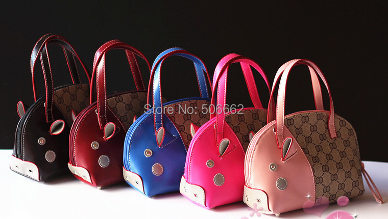 Free shipping Princess fashion handbags Child messenger bags Kids shoulder bags 5pcs/lot(China (Mainland))