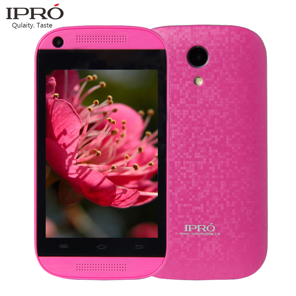 IPRO Original 3.5 Inch Smartphone Android 4.4 Mobile Phone Dual Core 512M+256M Ruaaian Language I9355 Cellphone For Ukraine(China (Mainland))