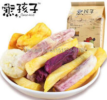 Xiong Haizi comprehensive Vegetable Fruit stem 235g vegetables dried fruits vegetables dry dehydration dried fruit snacks