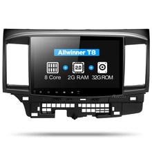 Asottu CYS1060 2G Octa Core Android 9,0 para Mitsubishi Lancer multimedia estéreo Unidad de Radio GPS coche dvd gps player gps ESTÉREO(China)