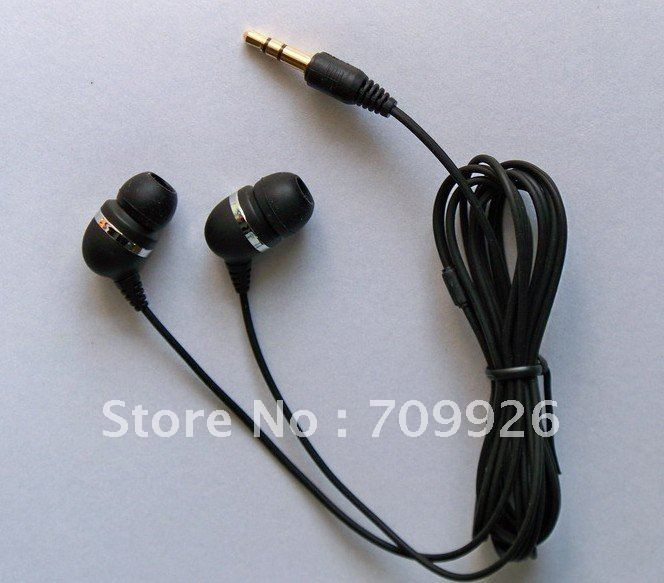 3.5mm Stereo In-ear Earphone For Music Players MP3 Quality Earbuds Min order 3000pcs(China (Mainland))