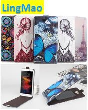 Buy New Lenovo Vibe K5 case 5.0 inch fashion tower tiger painting leather case flip protective cover case Lenovo Vibe K5 K5 Plus for $3.88 in AliExpress store