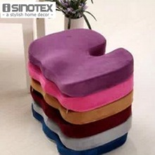 Contoured Memory Foam Seat Cushion for Chair Car Office Home