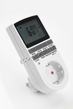 EU  Plug 24 hours and 7 days Digital Timer,hour timer,   measurement,  with  radom and summer time, free shipping(China (Mainland))