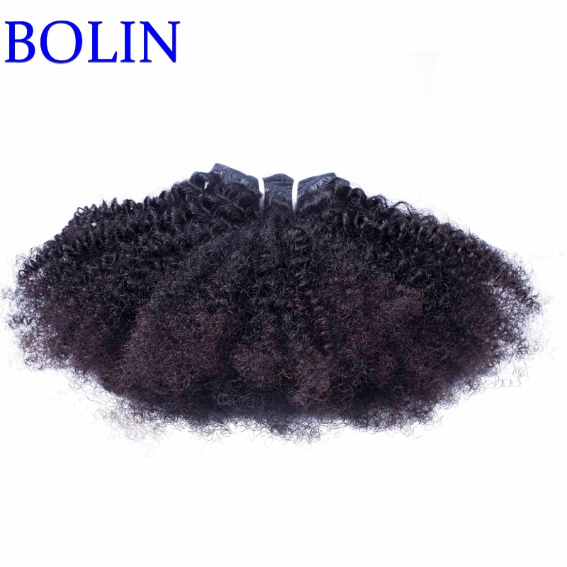 7A Mongolian afro kinky curly bulk human hair for braiding 1pcs human braiding hair bulk Mongolian virgin bulk hair extensions