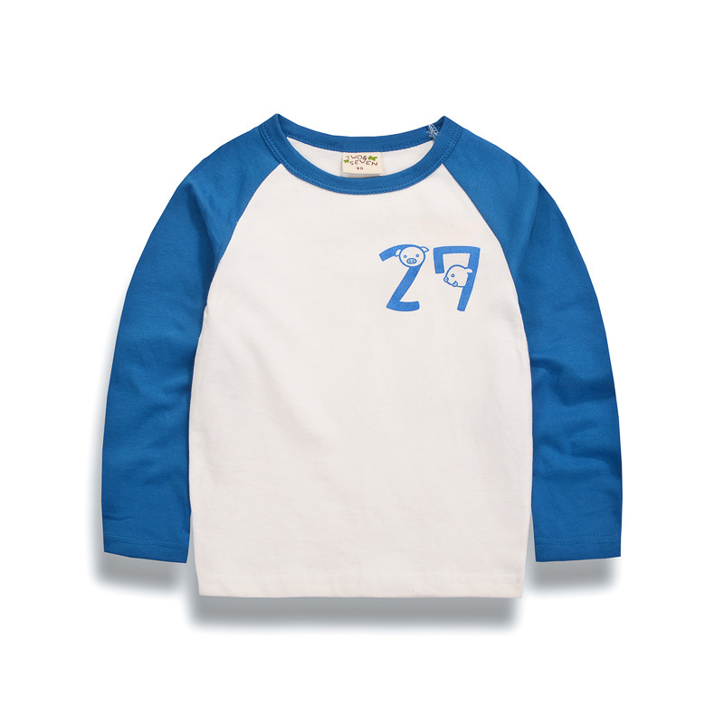 Baby Girl T Shirts 2017 Fashion Spring Cotton Toddler Children Boys T-shirt Long Sleeve Girls Clothes 2 3 4 5 6 7 8 9 10 Years