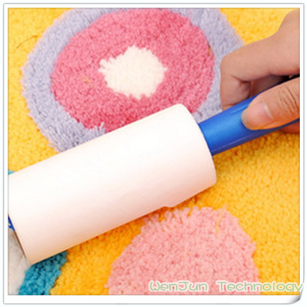 Free shipping Sticky dust collector, can tore type adhesive hair roll, clothing dust collector