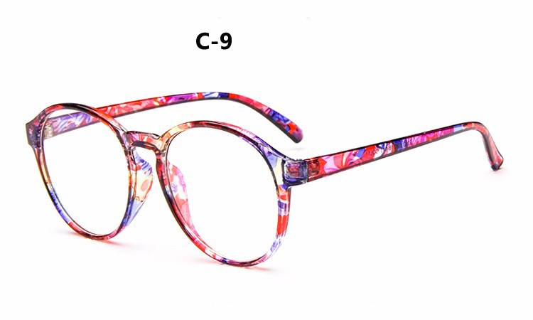 0839a9cf52f 2019 Wholesale 2016 Fashion Classic Round Glasses Women Ultralight ...