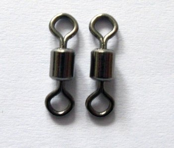 120 X Premium Quality Rolling Swivels in Different Sizes From 4#-12#,For Your Fishing Needs Special Offer Free Postage