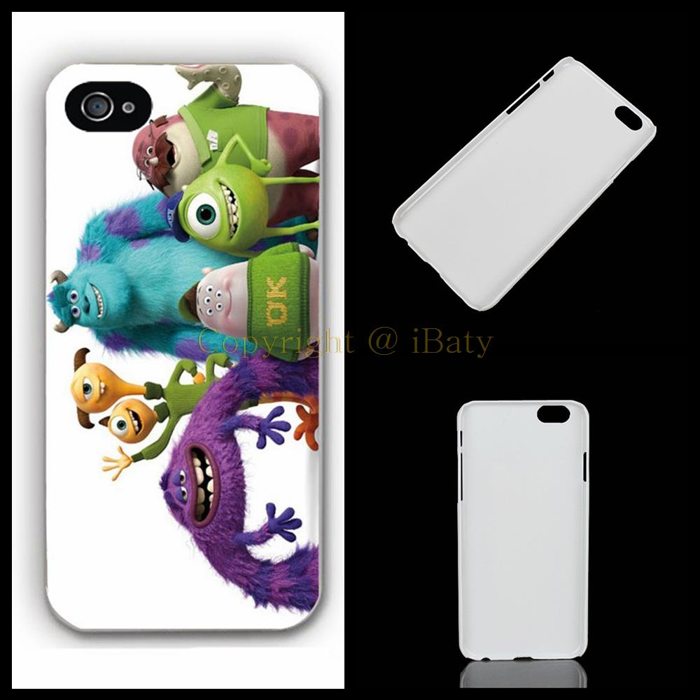 Monster University Funny Picture hard plastic printing phone case protective cover for Apple iPhone 4 4s 5 5s 5c 6 6s plus(China (Mainland))