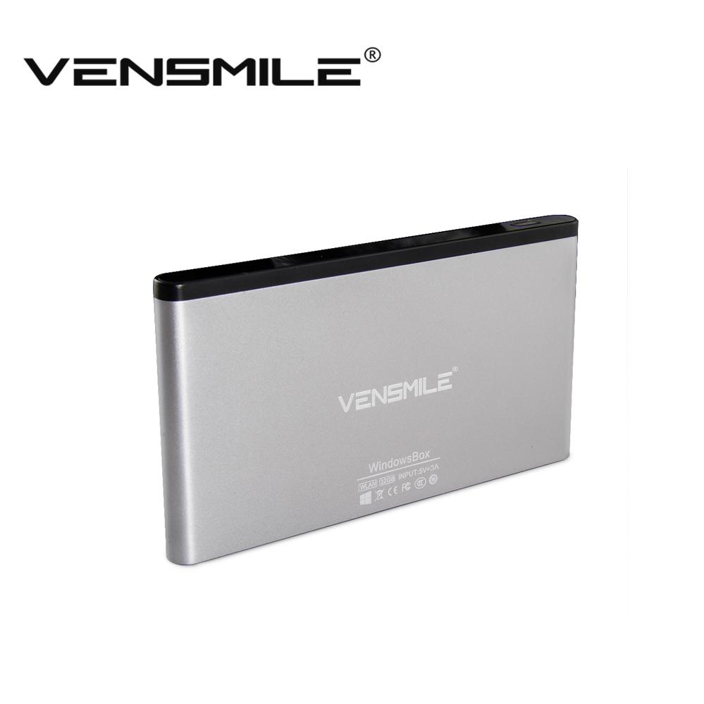 Vensmile ipc002+ Intel Atom Z8300 Windows 10 Mini PC Computer 2G/32G Memory Computador 2.4G/5G Dual Wifi Wireless Media TV Box(China (Mainland))