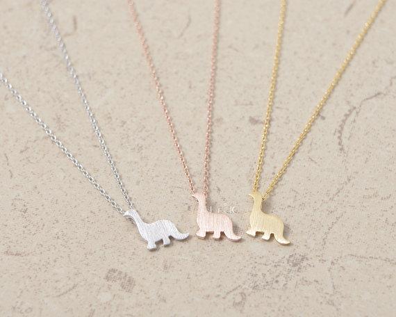 DANGGAO fashion Dinosaur Jewelry pendant Necklace for women girl child choker chain necklace cute Christmas birthday gift idea(China (Mainland))