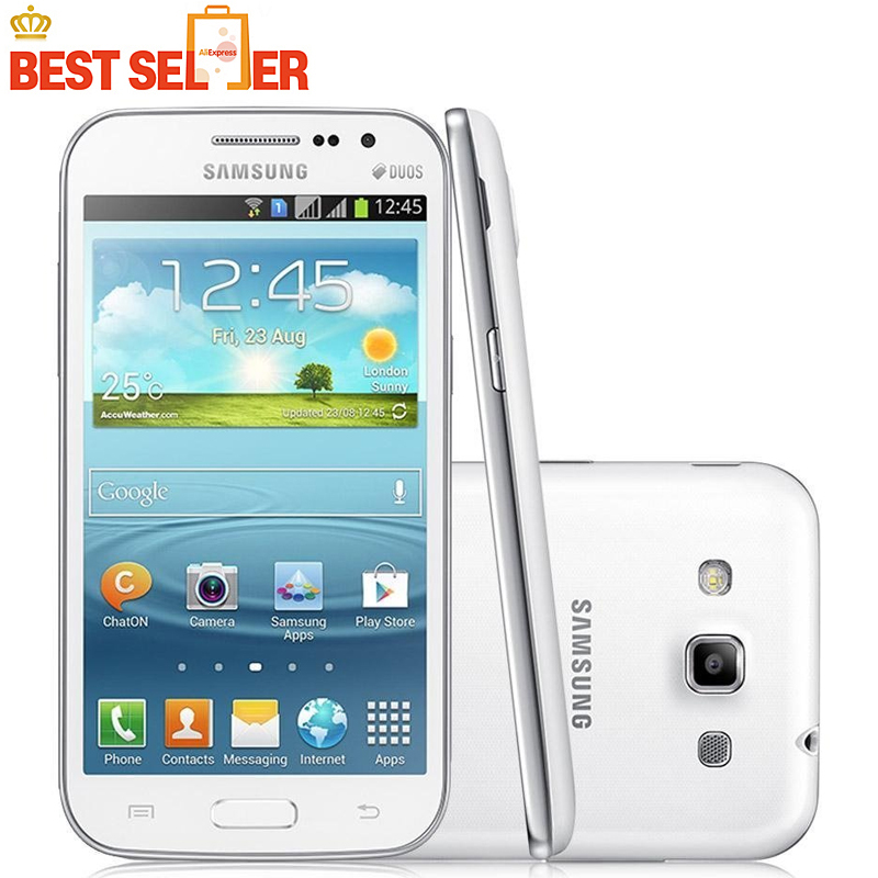 Original Samsung Galaxy Win I8552 Android 4.1 ROM 4GB Wifi Quad Core Cell Phone 4.7'' Unlocked Refurbished Mobile phone(China (Mainland))