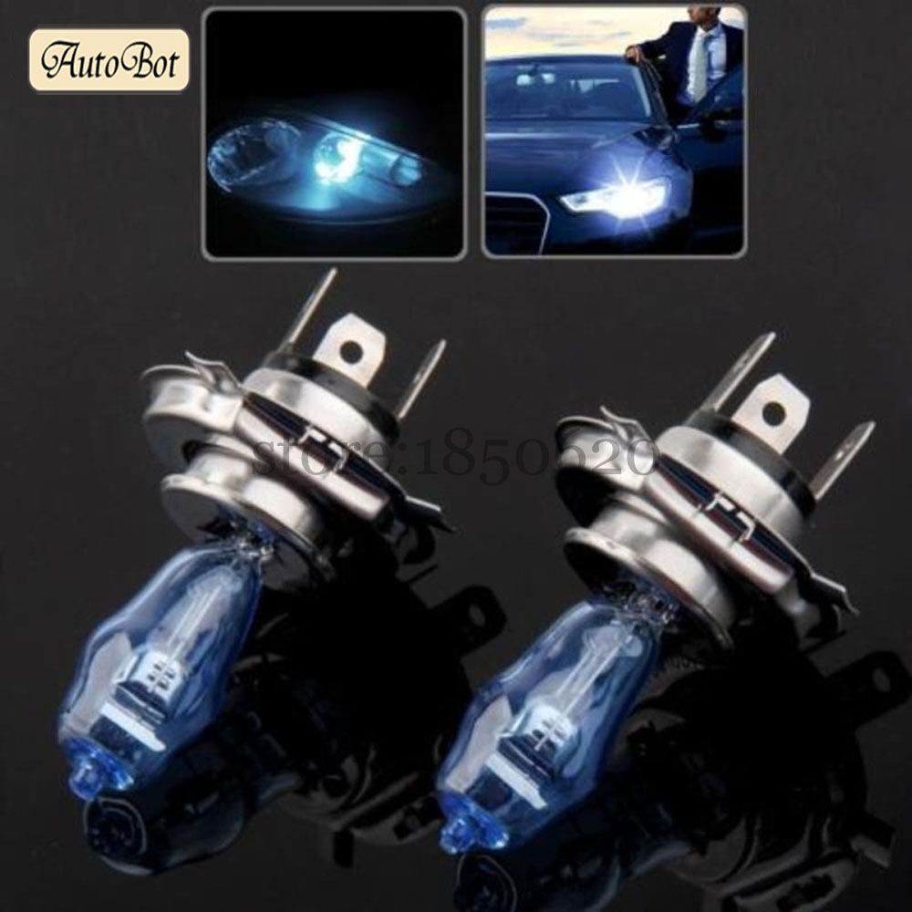 One Pair HOD H4 12V 100W/90W 6000K Super White Color LED Light HOD Fog Headlight Lamp Lights Car Styling With Original Box(China (Mainland))