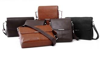 Горячая продано 9000 шт. высокое качество мужчины сумка, мода кожа мужчины сумка на плечо, свободного покроя портфель торговая марка сумки