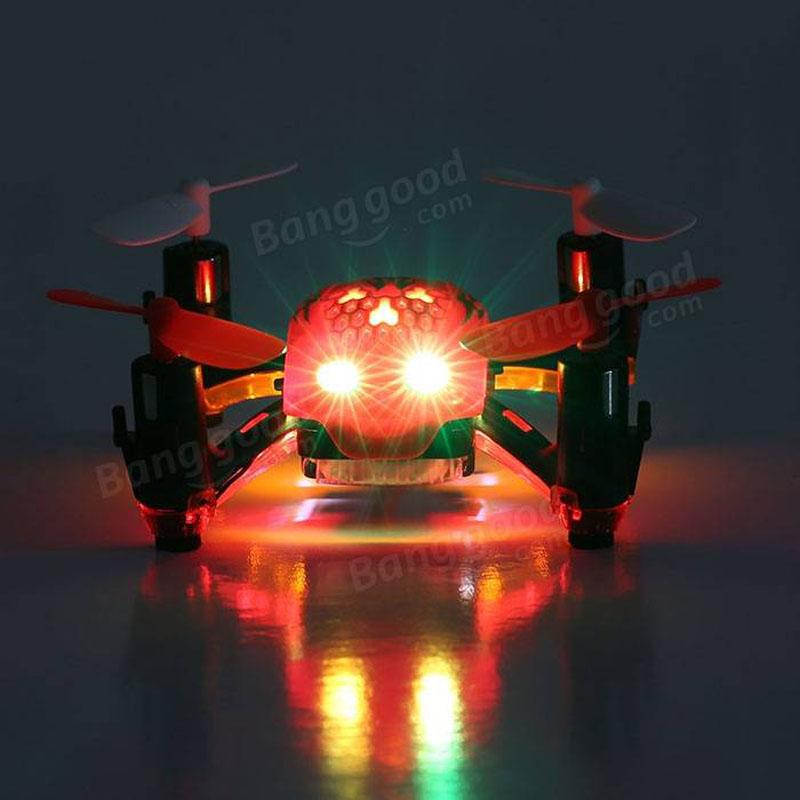 Free Shipping Global Drone GW008 Halloween RC Mini Drones 2.4G 4CH 6Axis Headless Dron 3D Rolling RC Quadrocopter VS CX-10 FQ777