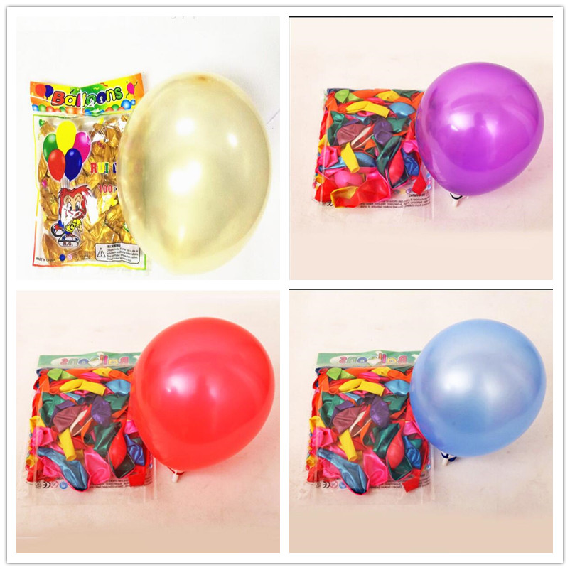 10-inch 1.3 grams round pearl balloon white balloons minnie mouse birthday camouflage party supplies<br><br>Aliexpress