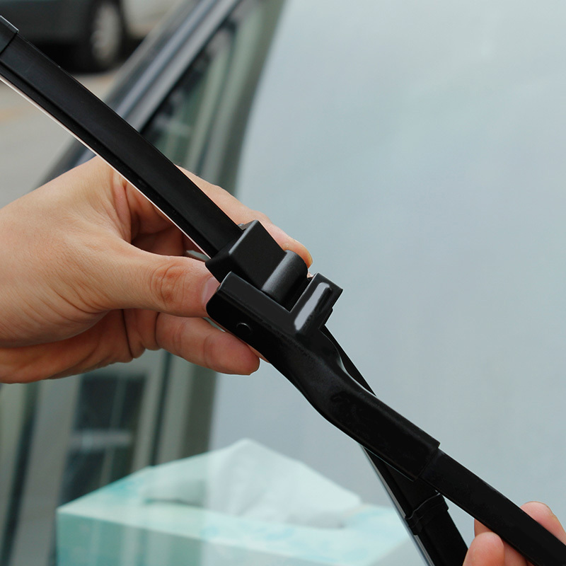 New styling Free shipping 2 pcs pair car Replacement Parts Windscreen Wipers The front wiper blades