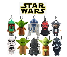 Wholesale mix cartoon STAR WARS character USB Flash Drives thumb pen drive memory stick u disk 2GB-64GB bulk cheap-free shipping