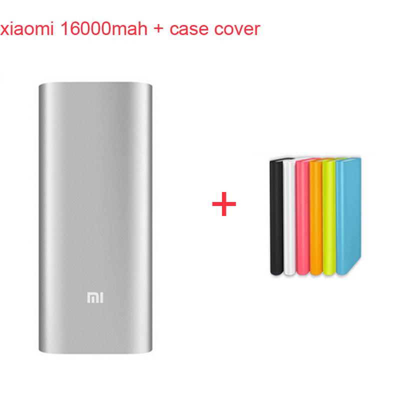 original xiaomi power bank xiaomi 16000mah external battery pack  xiaomi 16000 MI charger external battery  charger & case cover