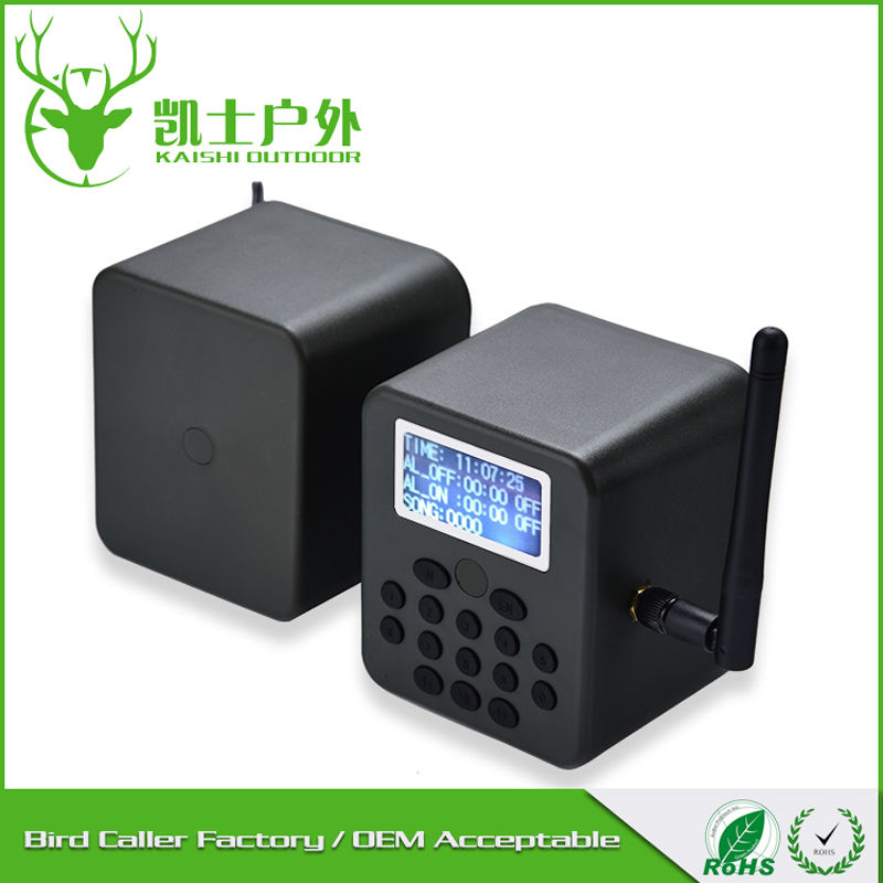 Bird Caller Supplier birds sound caller, two speaker mp3 player with 210 Songs Included(China (Mainland))