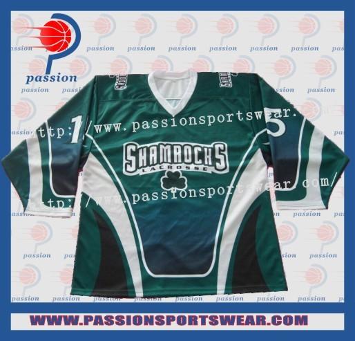 Best Dye Sublimation Custom Team Ice Hockey Jersey/goalie Shirts(China (Mainland))