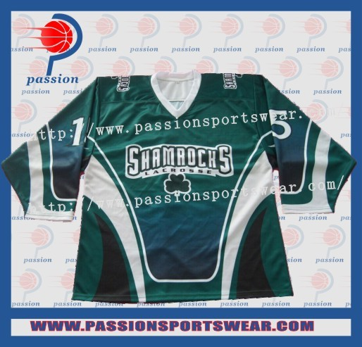 Best Dye Sublimation Custom Team Ice Hockey Jersey/goalie Shirts(China (Mainland))