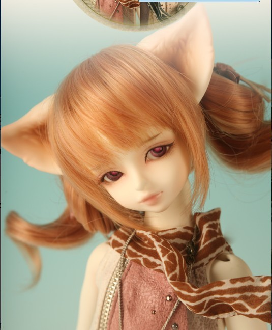 1/4th 42CM BJD doll nude Grey &amp; Ace,SD doll The wind Elves include face up..not include clothes; wig;shoes and other  access&amp;ies<br><br>Aliexpress