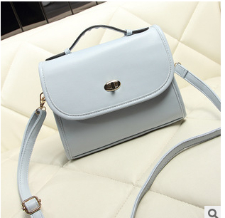 We Only Provide The Best ! PU Leather Lady Summer Candy Vintage Tote&Corssbody Double-Use Handbag 7 Colors(China (Mainland))