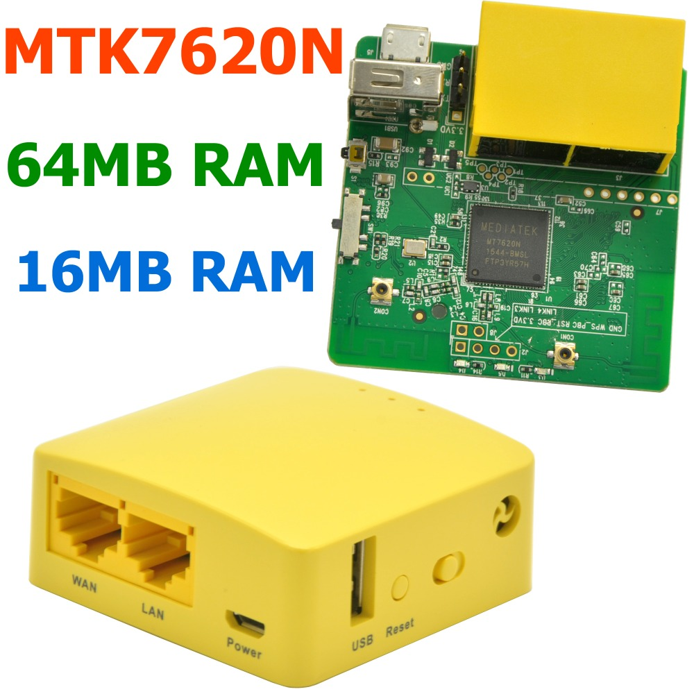 GL.iNet GL-MT300N 300Mbps Mini WiFi Router MTK7620N WiFi Repeater OPENWRT Firmware Travel Routers 16MB Flash/64MB RAM