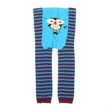 6 Color Cute Baby Kid Infant Pants Toddler Newborn Cartoon Striped Leggings Long Pants