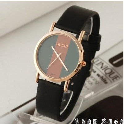 New fashion leather Geneva rose bell ladies fashion table fashion quartz watch watches Itsuki free delivery of polso(China (Mainland))