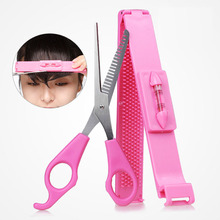 2016 New DIY Tools Makeup Artifact Style Hair Cutting Guide Layers Bang Hair Trimmer Clipper Clip Comb Fringe Cut (China (Mainland))