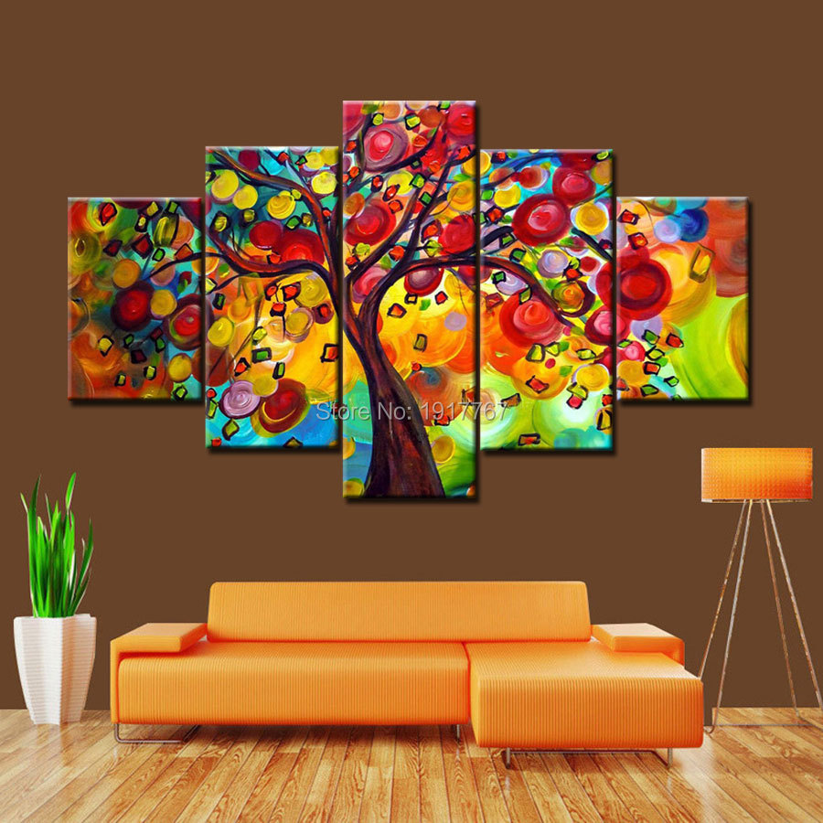 Wall Art Paintings For Living Room Paintings For Living Room Art Modern Abstract Oil Painting On
