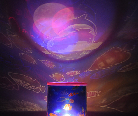 Ocean Star Projector Led Super Bright Lamp Night Light