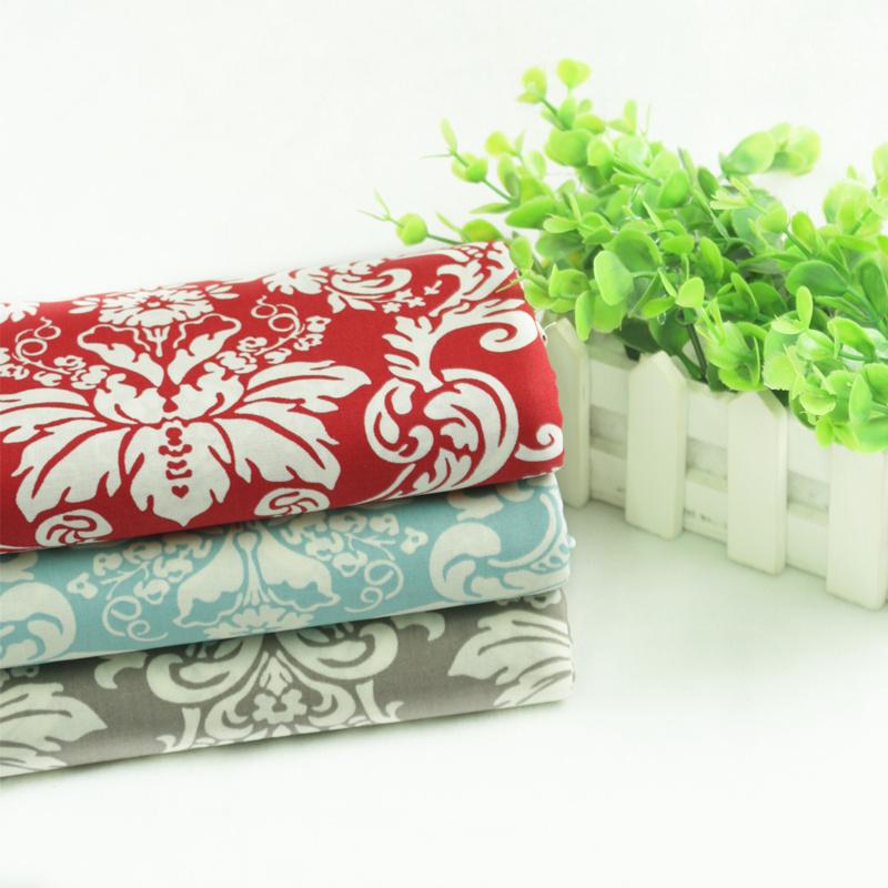 Fashion flat stripe printed cloth 100% cotton handmade diy table cloth clothes pillow cushion(China (Mainland))