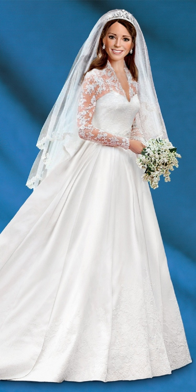 Wedding Dresses With Sleeves And Lace Kate Middleton | Super Wallpapers
