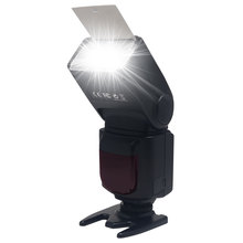 Buy Mcoplus KM-670 LCD Flash Universal Mount Speedlite Canon Nikon Pentax Olympus DSLR Camera D7100 D3100 D90 D5300 D3200 600D for $35.00 in AliExpress store