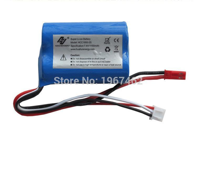 7.4V 1150mAh Li-ion battery  MJX T10 T11 T34 RC Helicopter double horse 9012 RC boat spare parts  Free shipping<br><br>Aliexpress