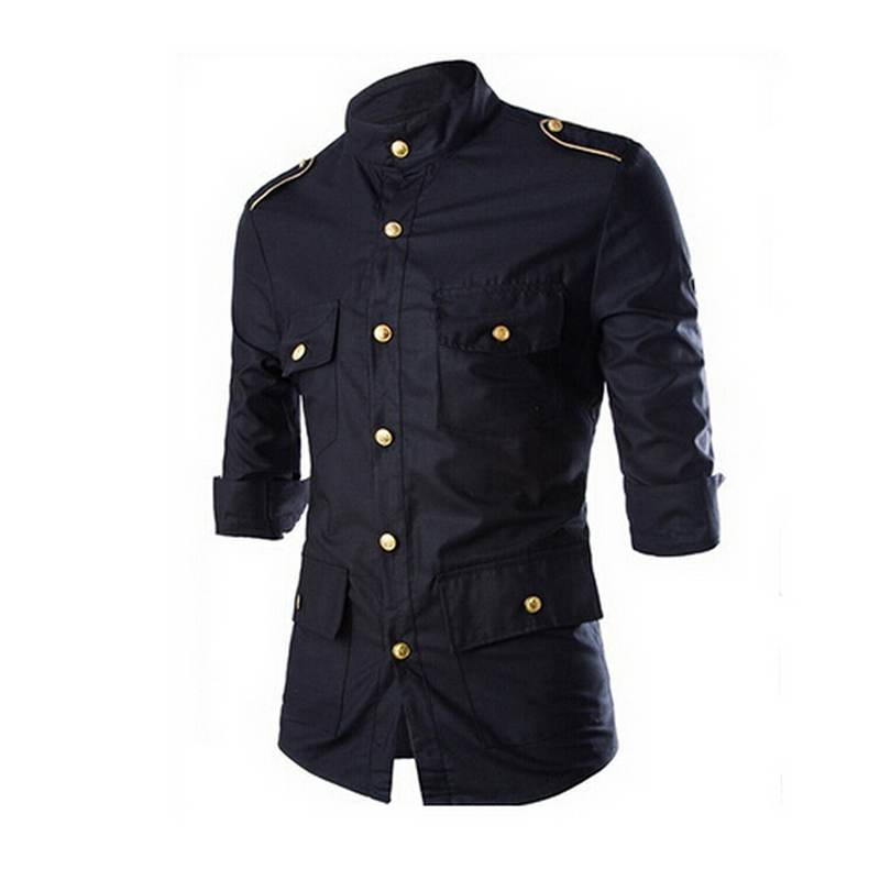 Xxl british designer men shirt brand slim fit casual shirt Designer clothing for men online sales