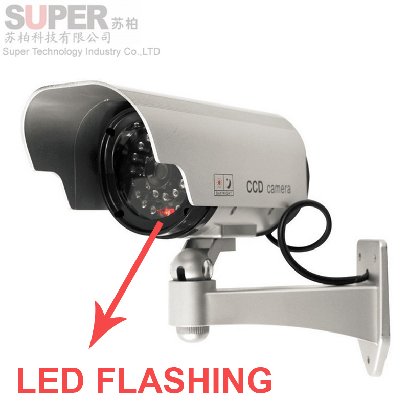 alloy case indoor outdoor waterproof imitation CCTV Camera,scaring using function with LED flashing security dummy camera,<br><br>Aliexpress