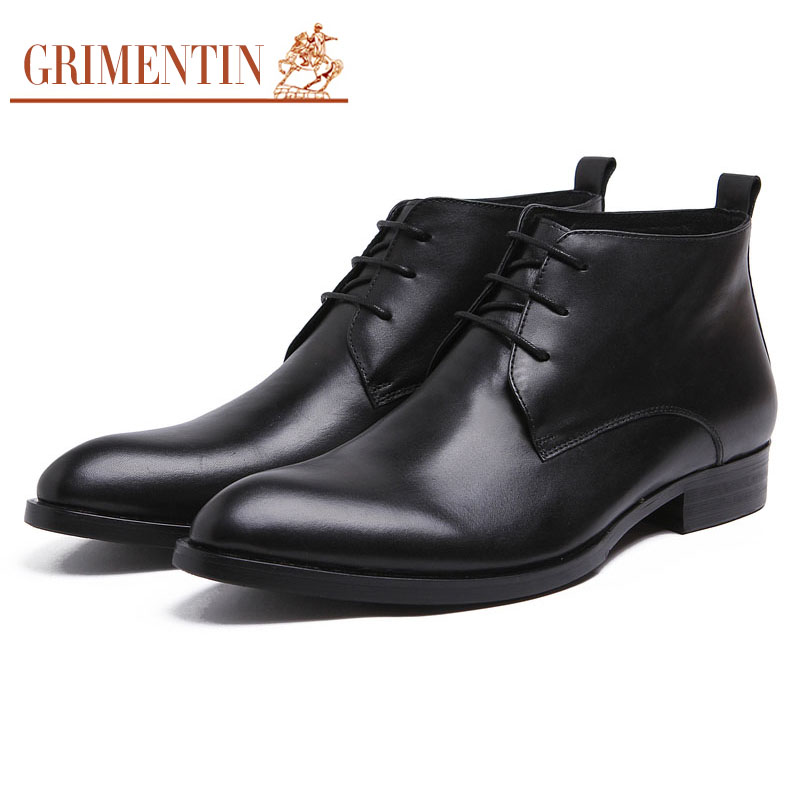 2016 Italian winter luxury fashion classic short ankle boots genuine suede leather black men shoes for business shoes office#904(China (Mainland))