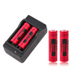 4pcs New 14500 3 7V 2800mAh Rechargeable Batteries 14500 Li ion Battery US Plug Charger Red