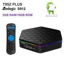 Buy T95Z Plus Android 6.0 TV Box 2GB RAM 16GB Amlogic S912 Octa Core iptv Dual WiFi 1000M Gigabit Smart TV Box 3D 4K Media Player for $59.99 in AliExpress store