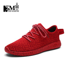 Hot New Fashion Casual Shoes For Men and Women Couple Shoes Spring Autumn Breathable Casual Shoes Black Red Gray Size 36-44