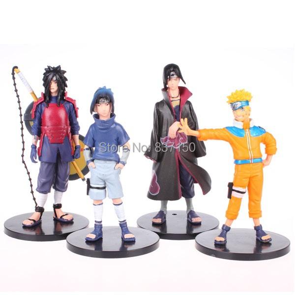 Classic Kishimoto Masashi Anime Comic Naruto Uzumaki Uchiha Sasuke Figure Toys - volitation store