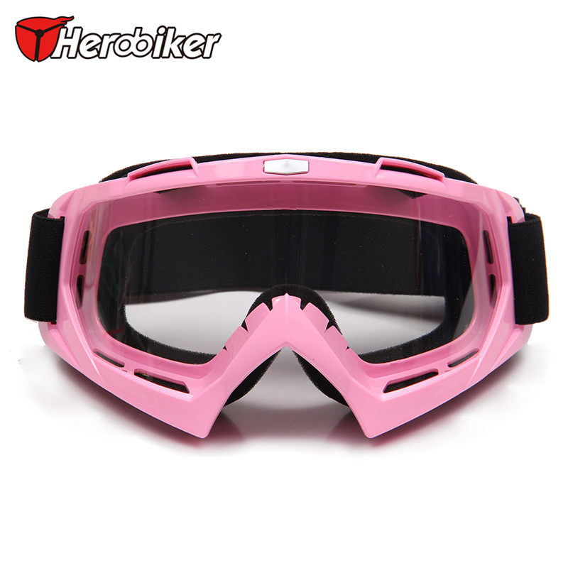 HEROBIKER Factory sales Motocross Off-Road Eyewear Motorcycle Windproof Riding Glasses Ski Snow Snowboard Goggles(China (Mainland))